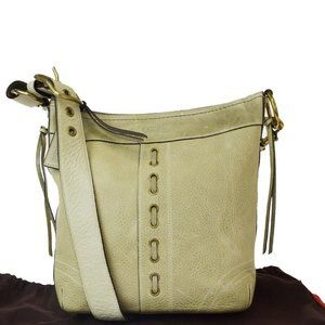 Coach 10399 Leather Shoulder Bag Green